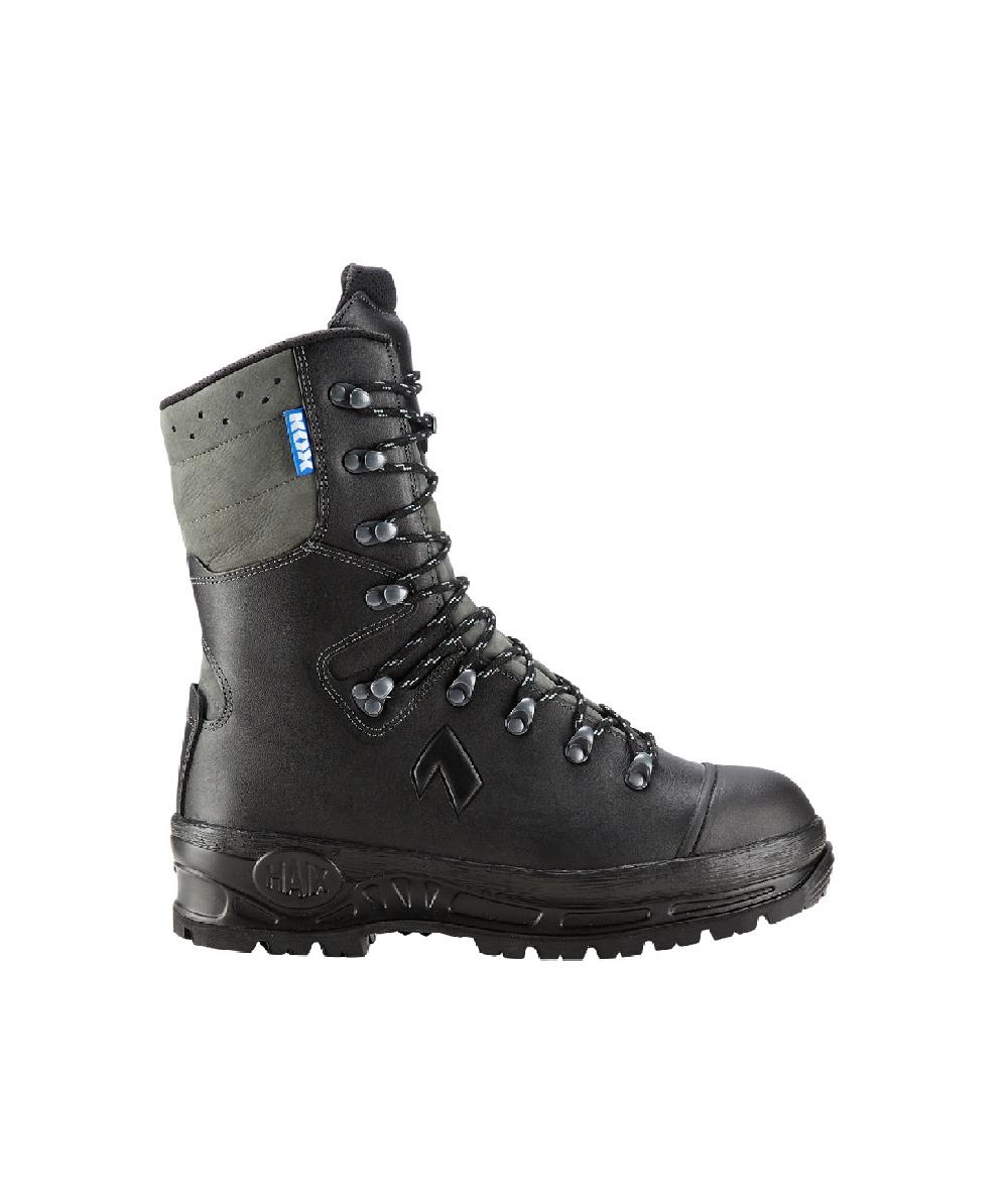 KOX Protector 2.0 Schnittschutzstiefel mit Gore-Tex, Schwarz/Grau, XX73121