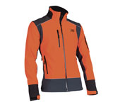 X-treme Shell - Soft Shell-Jacke orange/grau
