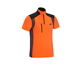 PSS X-treme Skin Funktionsshirt kurzarm, orange/grau